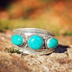 A TRIO OF TURQUOISE