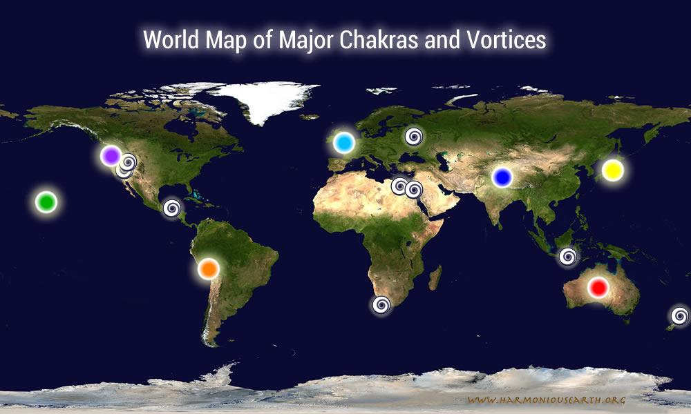 Earth Chakras